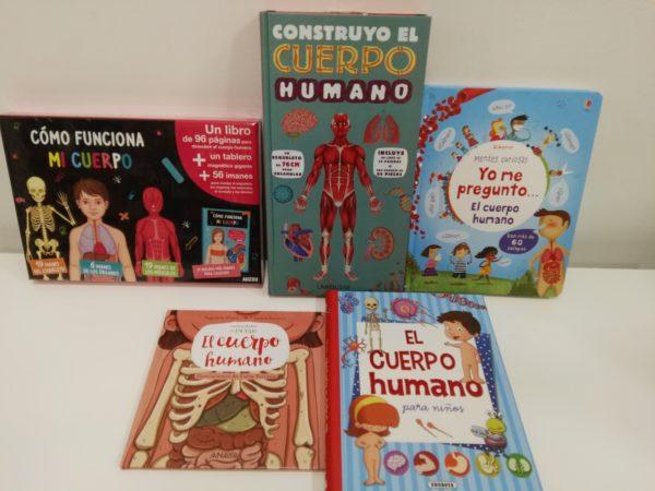 Anatomía - el cuerpo humano - libros divertidos para el aprendizaje